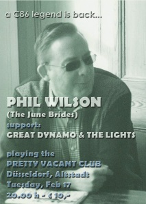 Phil Wilson Flyer Kopie