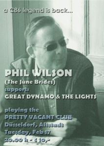 Phil Wilson Flyer Kopie